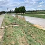 Hochwassereinsatz in Haunoldstein