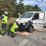 Verkehrsunfall fordert verletzte Lenkerin
