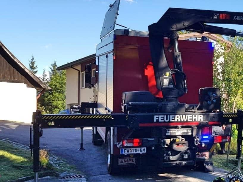 Menschenrettung in Mariazell