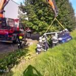 Fahrzeugbergung auf der B76 Radlpass Bundesstraße