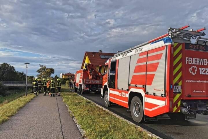 15 Sturmeinsätze in Himberg