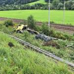 Schwerer Lkw Unfall auf der A9