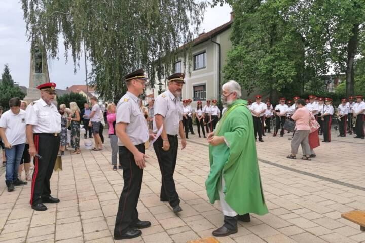 Verabschiedung von Bezirksfeuerwehrkurat Norbert Filipitsch