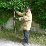 Tierrettung - Schlange in Notlage