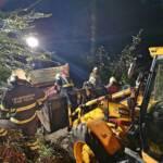 Übung Verkehrsunfall mit fünf Verletzten