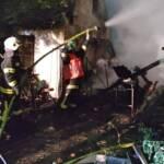 Großeinsatz bei Scheunenbrand