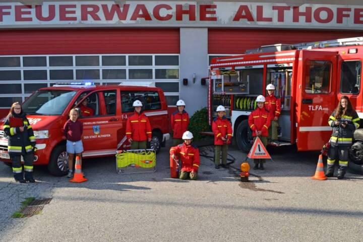 Feuerwehrjugend Althofen wieder aktiv