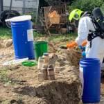 Chemieeinsatz in Villach Landskron