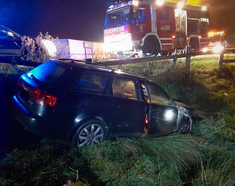 Verkehrsunfall auf der L12 Maltataler Landesstraße