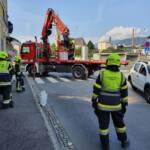 PKW Überschlag in der Villacher Innenstadt