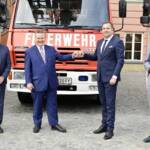 Drei Feuerwehrfahrzeuge für Sarajevo
