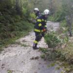 Sturmeinsätze in Perneck