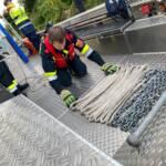 Ausbildungsprüfung Feuerwehrboote in Bronze