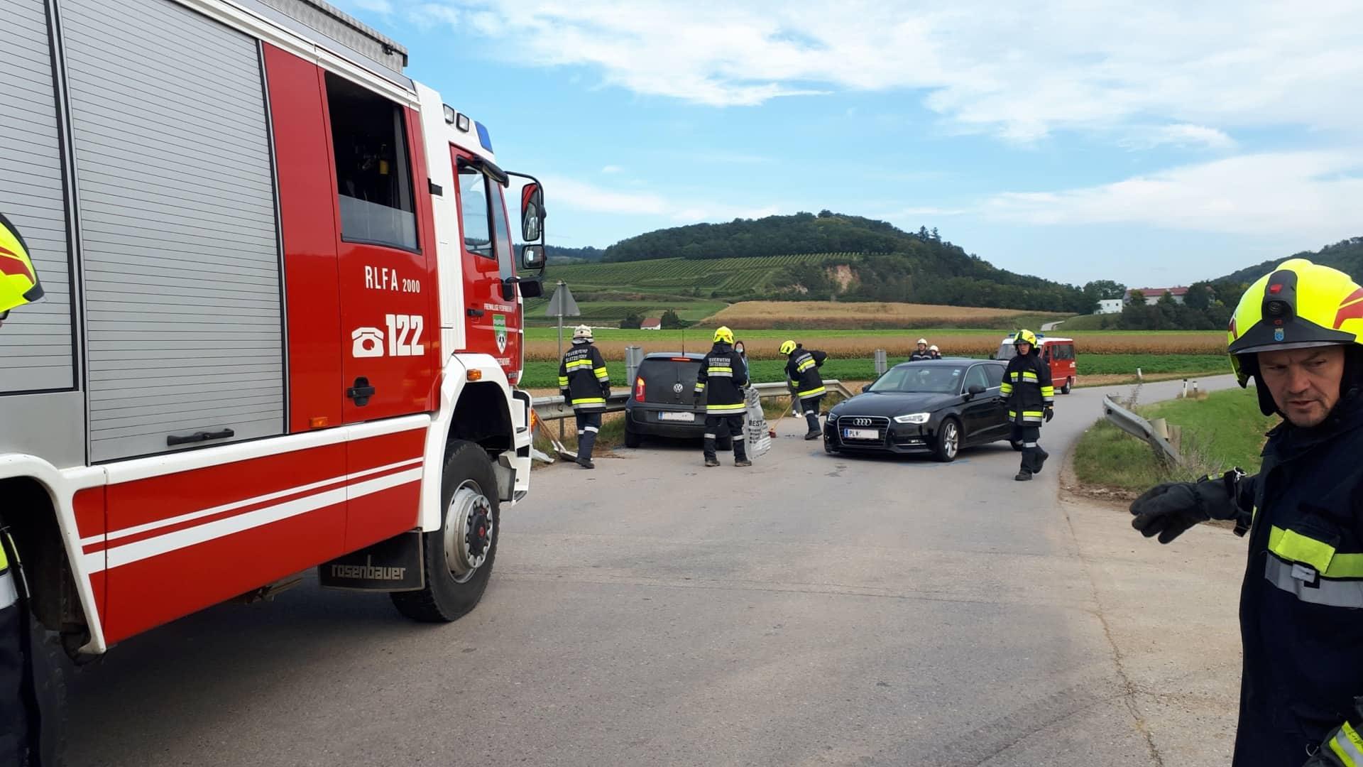 Verkehrsunfall in Unterwölbling
