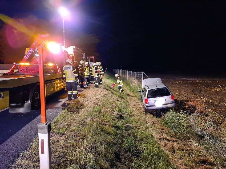 Verkehrsunfall auf der S36