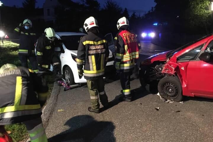 Verkehrsunfall in Ternitz/St. Lorenzen