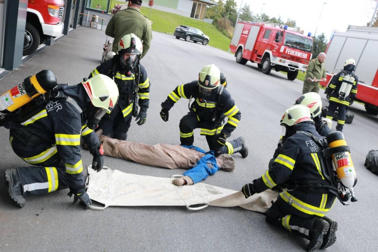 20 neue Atemschutzträger ausgebildet