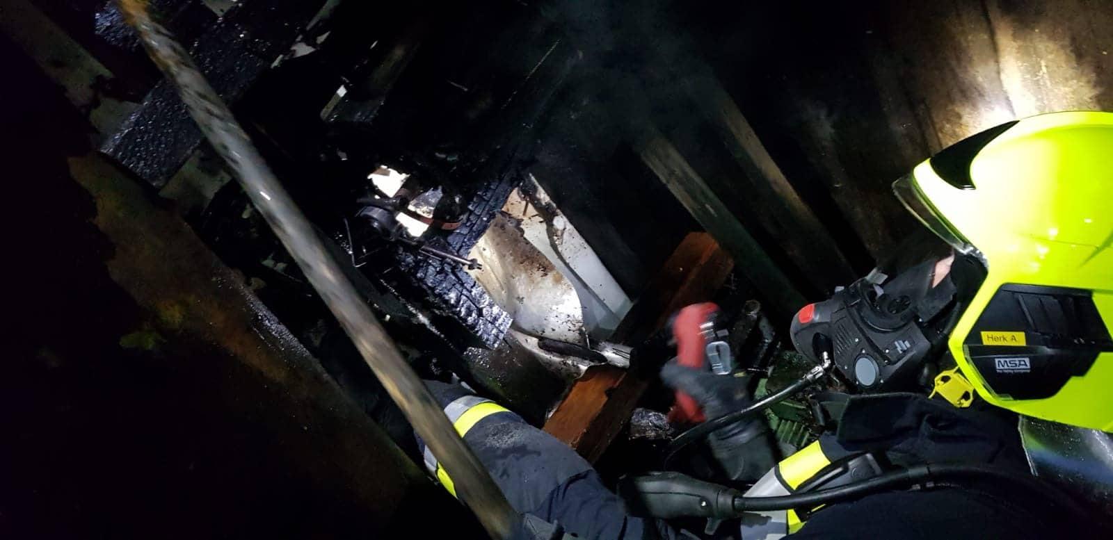Feuerwehr verhindert Wirtschaftsgebäudebrand