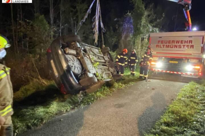 Verkehrsunfall auf der B145
