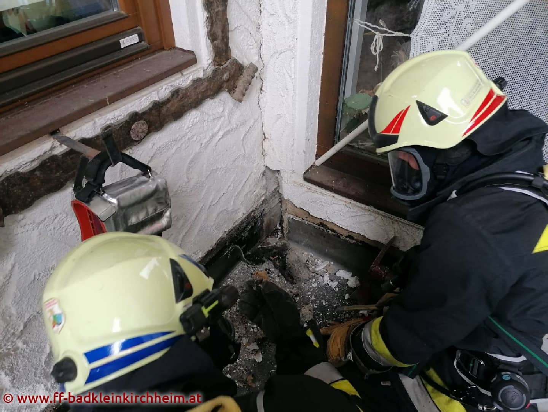 Schwelbrand nach Flämmarbeiten