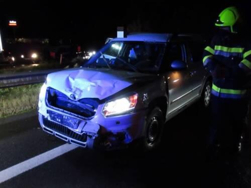 FF Leoben-Stadt: Verkehrsunfall auf der S6
