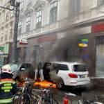 Verkehrsunfall in Wien-Leopoldstadt