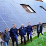Feuerwehrhaus mit PV Anlage Blackout-sicher gemacht