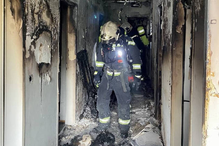 Zimmerbrand in Wien - Hietzing