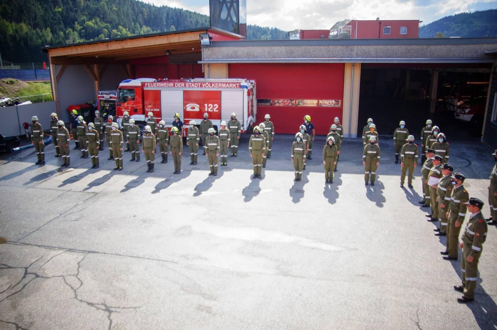 38 Maschinisten unter Corona-Sicherheitsmaßnahmen ausgebildet