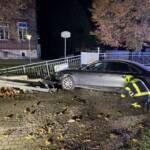 Spektakulärer Verkehrsunfall in Ebenfurth
