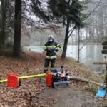 Brandeinsatz in Bad Gams