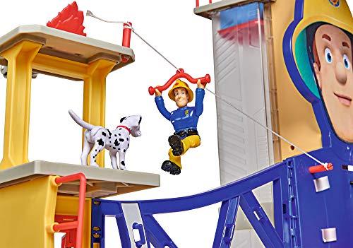 Feuerwehrmann Sam Spielzeug-Mega-Feuerwehrstation XXL 2