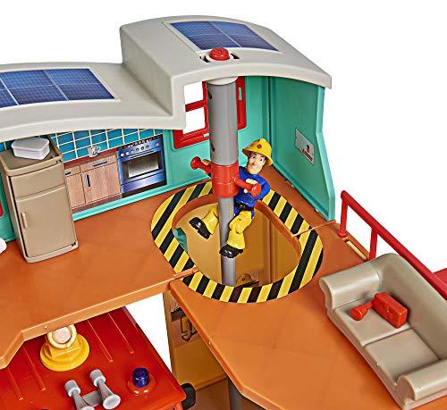 Feuerwehrmann Sam Spielzeug-Mega-Feuerwehrstation XXL 3