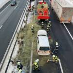 Verkehrsunfall auf der A9