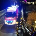Klein LKW in Sulzbach von der Straße abgekommen