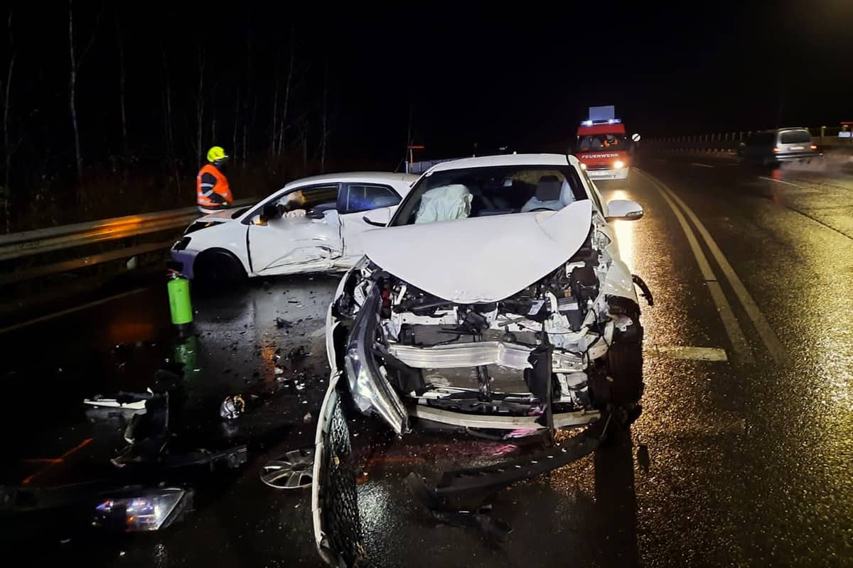 Verkehrsunfall B76 Lannach