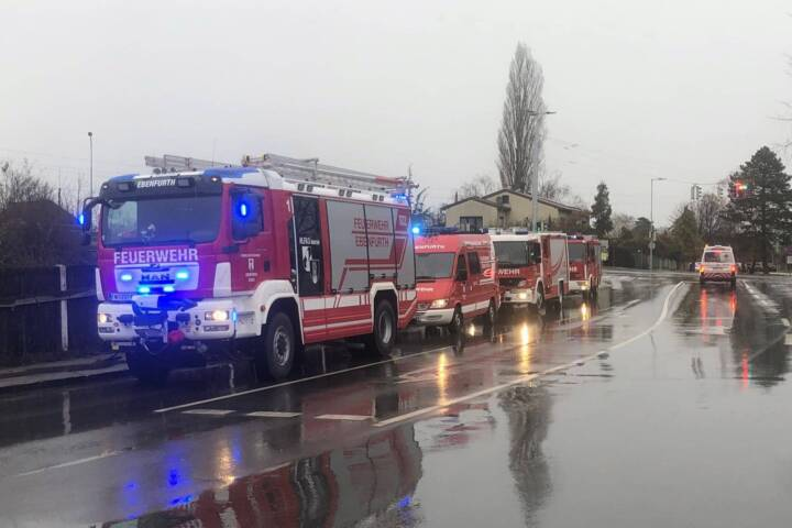 Brand in Hütte in Ebenfurth