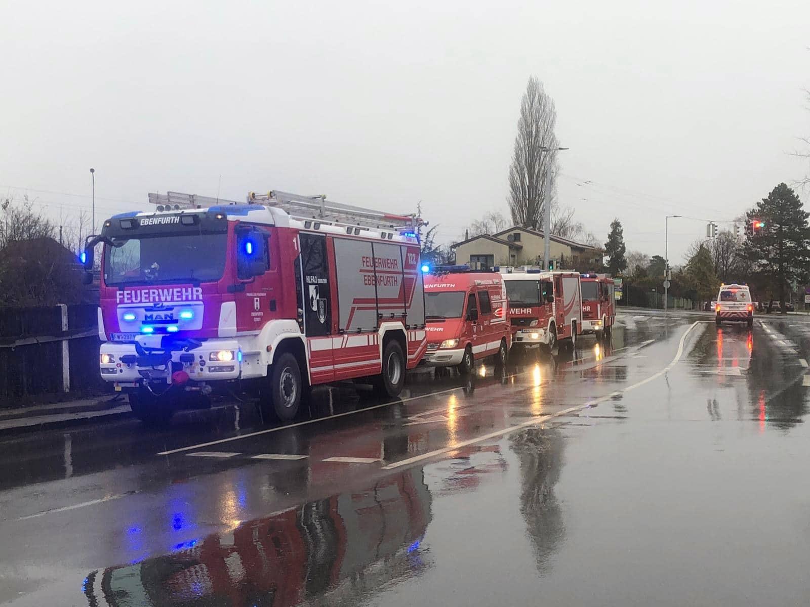 Brand in Hütte in Ebenfurth