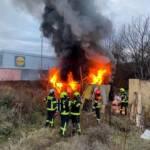 Erneut Brand in Hütte in Ebenfurth