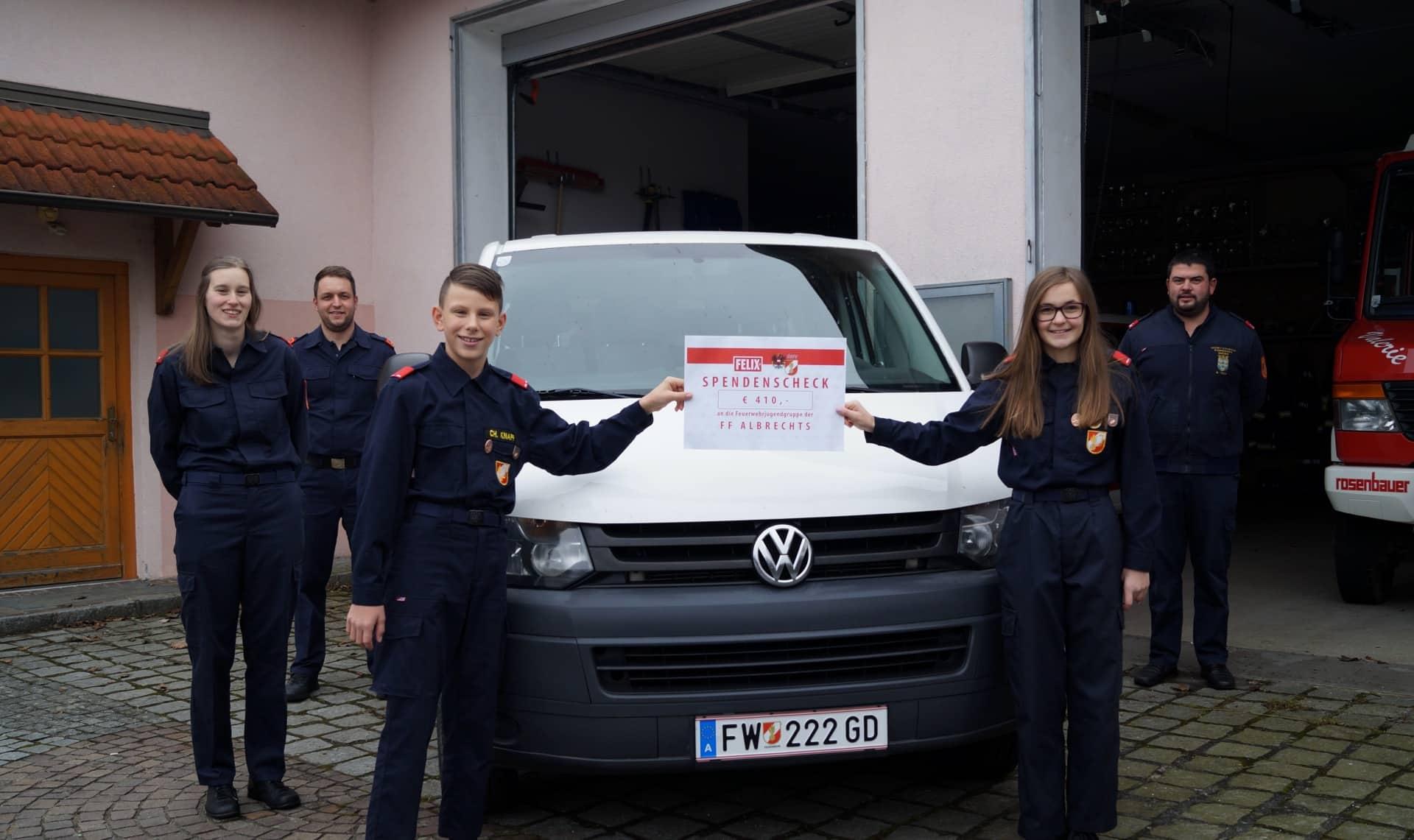 Feuerwehrjugend Albrechts erhielt Förderung
