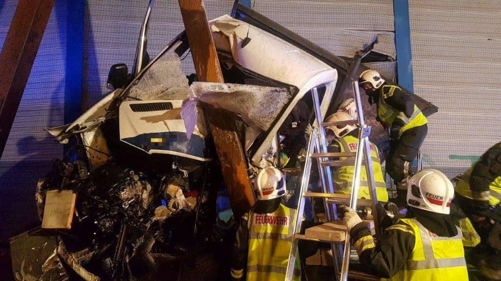 Verkehrsunfall auf der Südosttangente