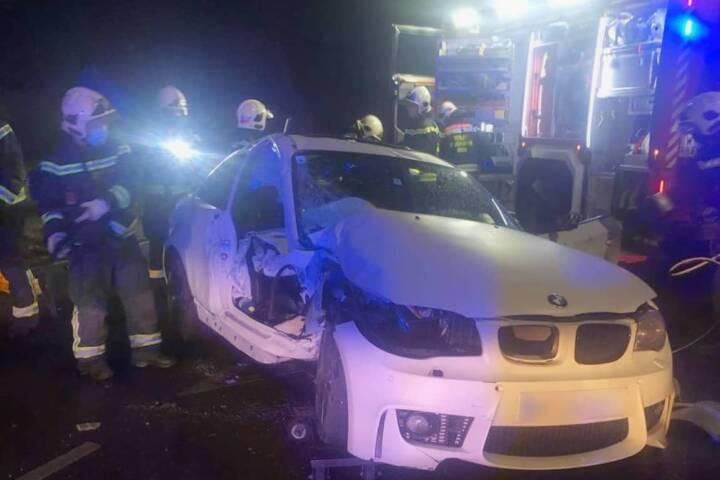 Verkehrsunfall in Wien Liesing