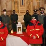 Friedenslichtübergabe an die Feuerwehrjugend in Pürgg