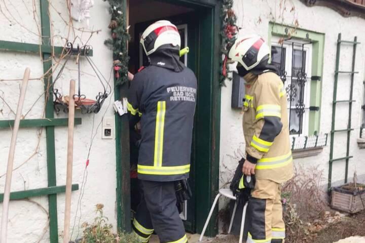 Person verunfallt - Türöffnung in Rettenbach