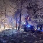 Starker Schneefall sorgt für zahlreiche Einsätze