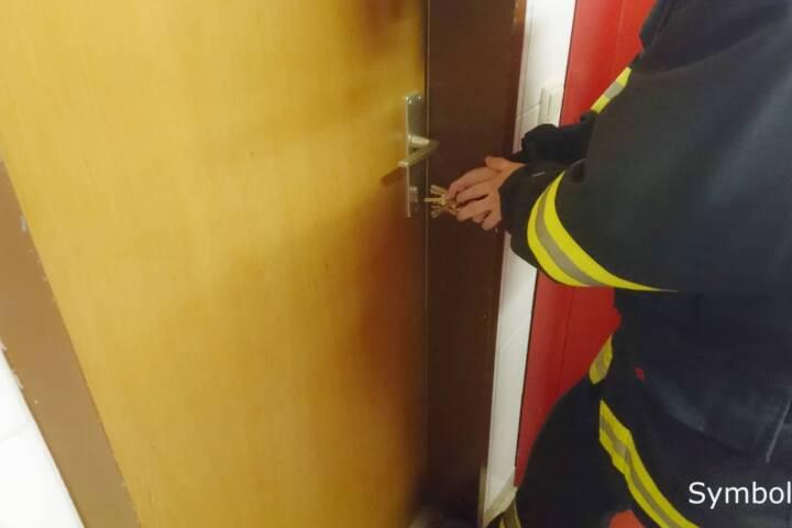 Türöffnung nach Unfallverdacht in Reiterndorf