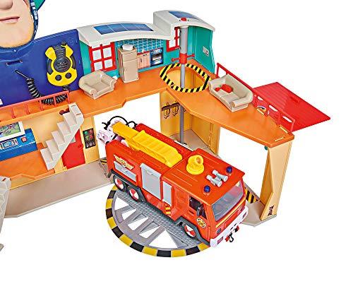 Feuerwehrmann Sam Spielzeug-Mega-Feuerwehrstation XXL 7