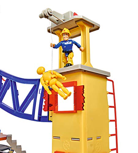 Feuerwehrmann Sam Spielzeug-Mega-Feuerwehrstation XXL 8
