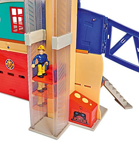 Feuerwehrmann Sam Spielzeug-Mega-Feuerwehrstation XXL 9