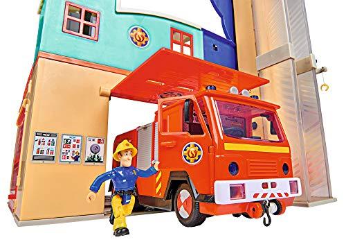 Feuerwehrmann Sam Spielzeug-Mega-Feuerwehrstation XXL 10